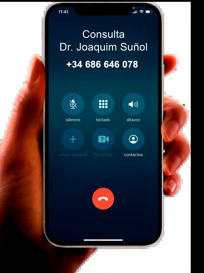 telefono consulta joaquim suñol cirugia plastica estetica barcelona