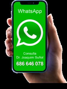 whatsapp joaquim suñol cirugia plastica estetica barcelona